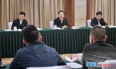 省委举行中央驻川媒体迎春座谈会,彭清华用哪四句话概